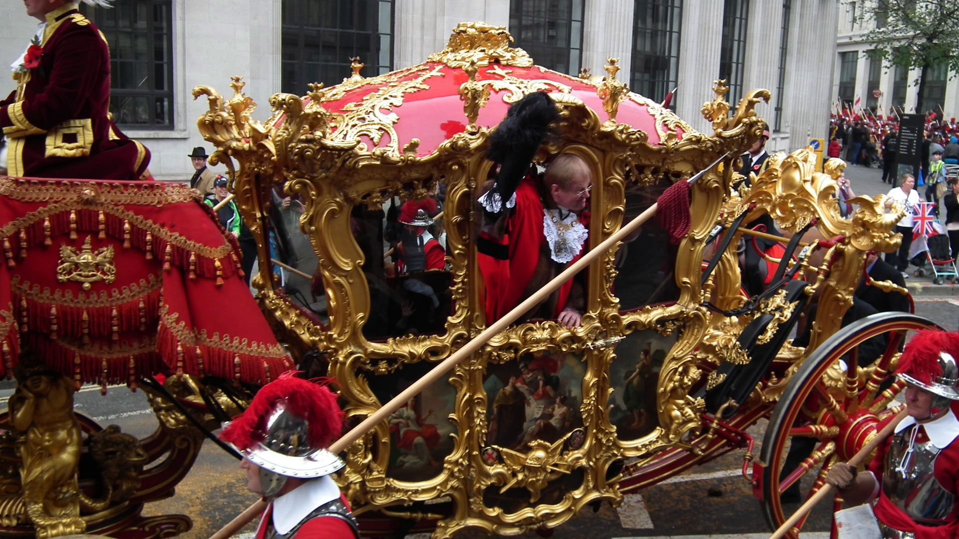lord mayors show carriage