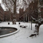Fountain Court in Winter 2