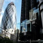 Gherkin and Lloyds lifts