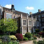 Middle temple hall from gardens