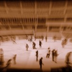 broadgate ice rink sepia