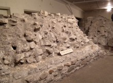 Roman Wall, Barbican