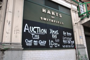 Harts of Smithfield sign
