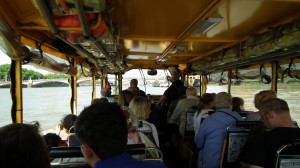 Duck Tours on board 1