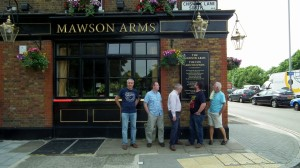 Fullers Brewery,Mawson Arms