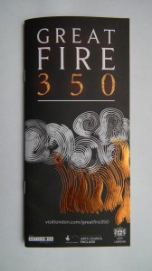 Great Fire 350 leaflet