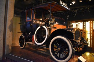 Museum of London taxi