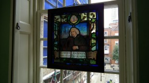 Samuel Johnson's window