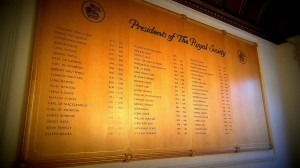 The Royal Society, Presidents board
