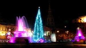 Trafalgar Square at Christmas 1