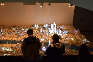 City Model, Guildhall Buildings