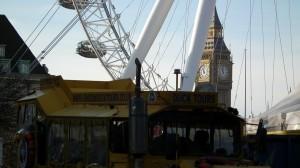 Duck Tours Wheel & Big Ben