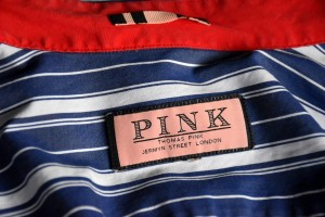 Jermyn Street, Thomas Pink Shirt 1