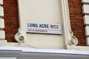Mercer's Maiden, Long Acre Sign