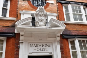 Mercer's Maiden, Maidstone House
