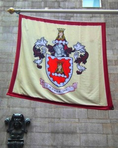 Mercers flag and Maiden