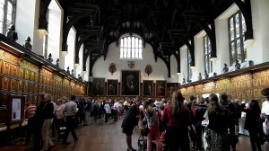 Middle Temple Hall, interior