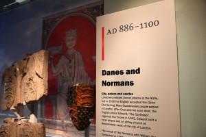 Museum of London Danes & Normans