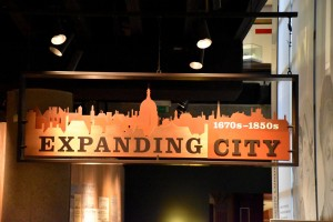 Museum of London Expanding City