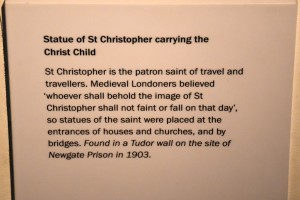 Museum of London St.Christopher