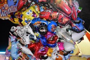 Winter Wonderland, balloons
