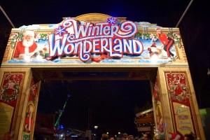Winter Wonderland, entry sign
