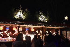 Winter Wonderland, lantern stall