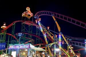Winter Wonderland,roller coaster